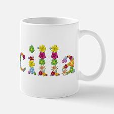 Priscilla Bright Flowers Mugs