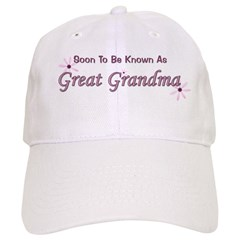 Soon To Be Great Grandma Baseball Cap