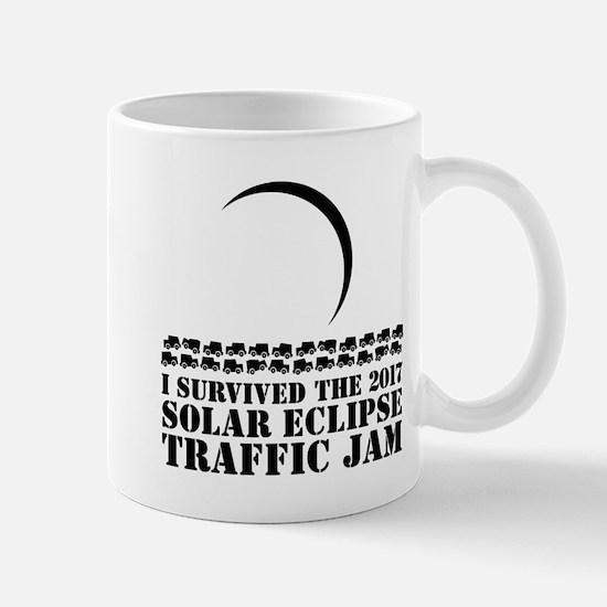 I Survived 2017 Solar Eclipse Traffic Jam Mugs