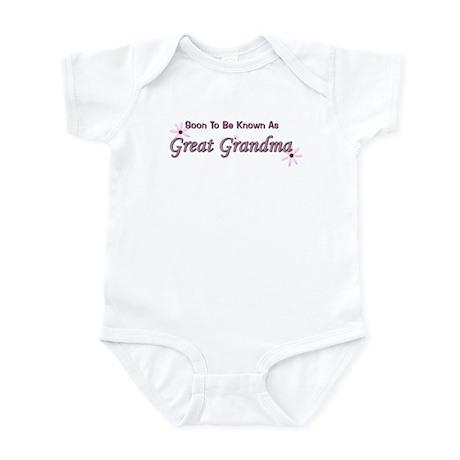 Soon To Be Great Grandma Infant Bodysuit