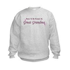Soon To Be Great Grandma Sweatshirt