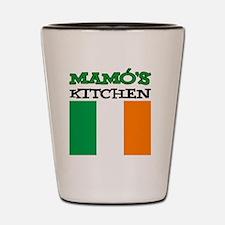 Mamos Kitchen Irish Apron Shot Glass
