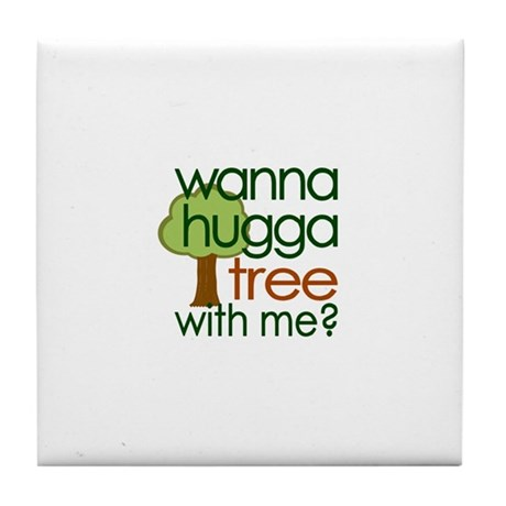 Hugga Tree (2007) Tile Coaster