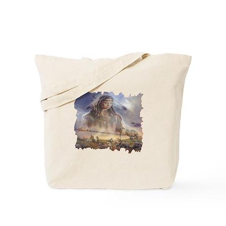White Buffalo Gift Tote Bag
