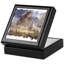 White Buffalo Gift Keepsake Box