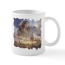 White Buffalo Gift Small Mug