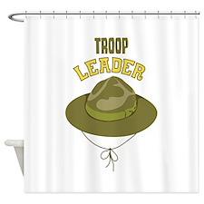 Troop Leader Shower Curtain