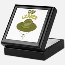 Troop Leader Keepsake Box