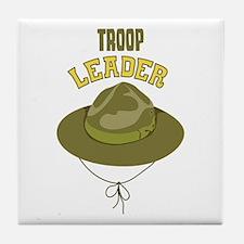 Troop Leader Tile Coaster