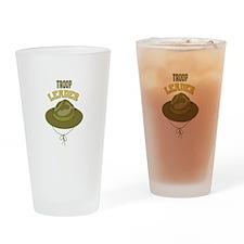 Troop Leader Drinking Glass