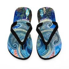 Sea Witch Flip Flops