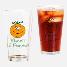 Mamos Little Pumpkin Drinking Glass