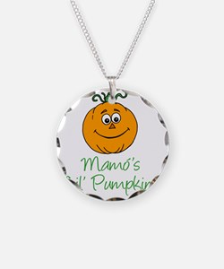 Mamos Little Pumpkin Necklace Circle Charm