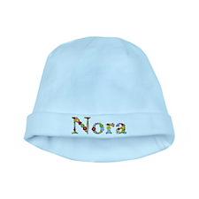 Nora Bright Flowers baby hat