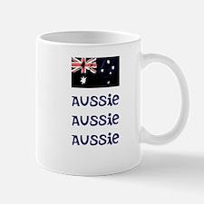 Aussis Aussie Aussie (blue) Mugs
