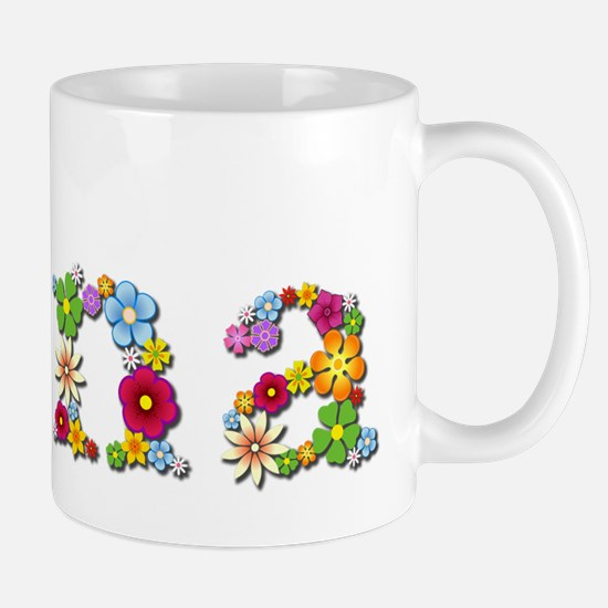 Nina Bright Flowers Mugs