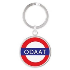 ODAAT - One Day at a Time Round Keychain