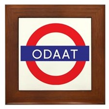 ODAAT - One Day at a Time Framed Tile