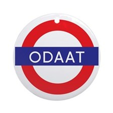 ODAAT - One Day at a Time Round Ornament