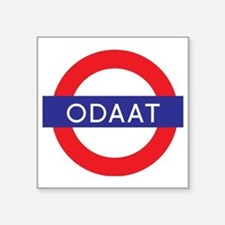 "ODAAT - One Day at a Time Square Sticker 3"" x 3"""