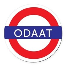 ODAAT - One Day at a Time Round Car Magnet