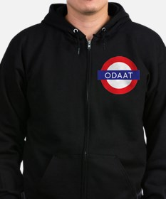 ODAAT - One Day at a Time Zip Hoodie (dark)