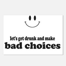 Bad Choices Postcards (Package of 8)