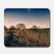 Rural Walk Home Mousepad