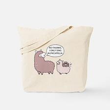 Acapella Humor Tote Bag