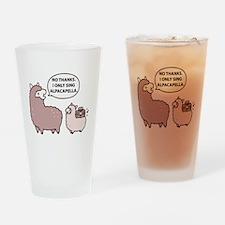 Acapella Humor Drinking Glass