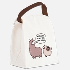 Acapella Humor Canvas Lunch Bag