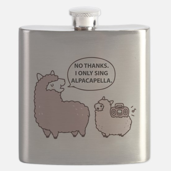 Acapella Humor Flask
