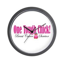 One Tough Chick Wall Clock