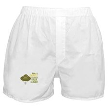 Greatest Troop Leader Boxer Shorts