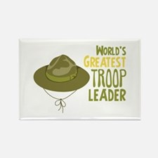 Greatest Troop Leader Magnets