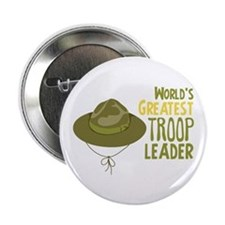 "Greatest Troop Leader 2.25"" Button"