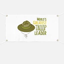 Greatest Troop Leader Banner