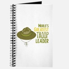Greatest Troop Leader Journal