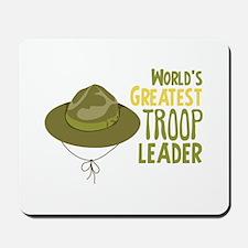 Greatest Troop Leader Mousepad