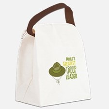 Greatest Troop Leader Canvas Lunch Bag
