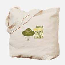 Greatest Troop Leader Tote Bag