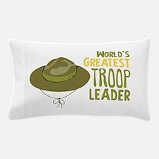 Greatest Troop Leader Pillow Case