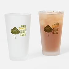 Greatest Troop Leader Drinking Glass