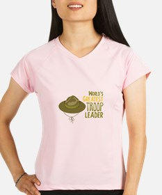 Greatest Troop Leader Performance Dry T-Shirt