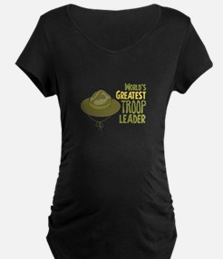 Greatest Troop Leader Maternity T-Shirt