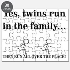 YES, TWINS RUN IN THE FAMILY Puzzle