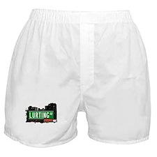 Lurting Av, Bronx, NYC  Boxer Shorts