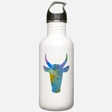 Cute Cow picture Water Bottle