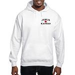 Jesus Loves Kansas Hooded Sweatshirt