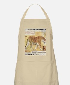 Russian Tiger Stamp Apron